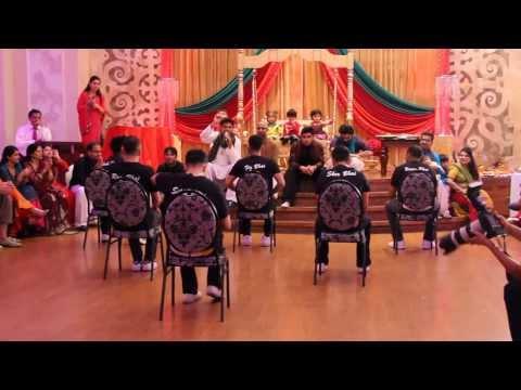 Best Mehndi Dance Bollywood Style (Tum Hi Ho, Jugni, Badtameez Dil) - VIP Boys