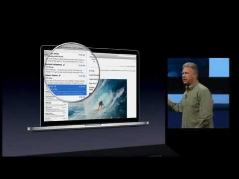 Apple WWDC 2012 Keynote - MacBook Air and MacBook Pro Retina Display (Part 1/2)