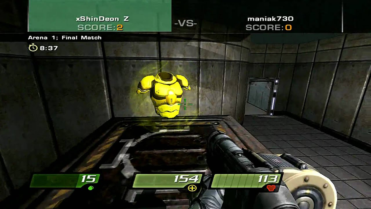Quake 4 Online Multiplayer Gameplay 1080p Hd Youtube