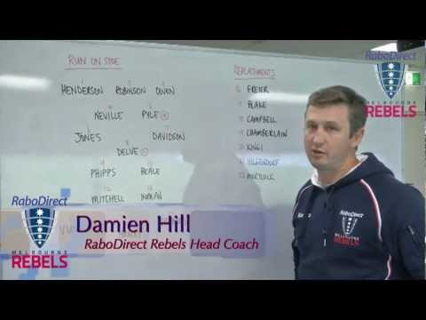 Rebels Coach Hill announces team for Hurricanes