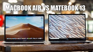 Huawei Matebook 13 vs Macbook Air After One Month (2019)