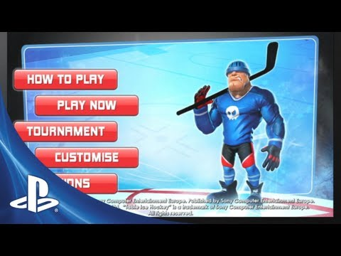 Table Ice Hockey Launch Trailer