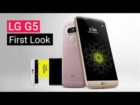 LG G5 Hands On At MWC 2016