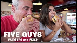 Five Guys Mukbang w/ Steph Pappas (In Restaurant!)
