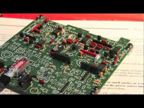 Elecraft K1 QRP Transceiver Assembly