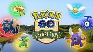 New Pokemon GO Safari Zone Event in Tainan , Taiwan!!
