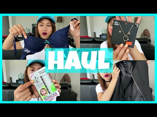 HAUL! (BRA+CLOTHING+ACCESORRIES) PPZ, COTTON ON, SHEIN | rhaze