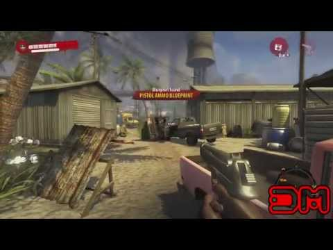 Dead Island Riptide - How to Get Pistol Ammo Blueprint