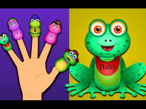Frog Finger Family And Many More