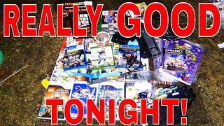 REALLY GOOD FINDS TONIGHT!!! Gamestop Dumpster Dive Night #396
