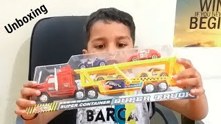 Super Truck And Car Toys For Kids Unboxing
