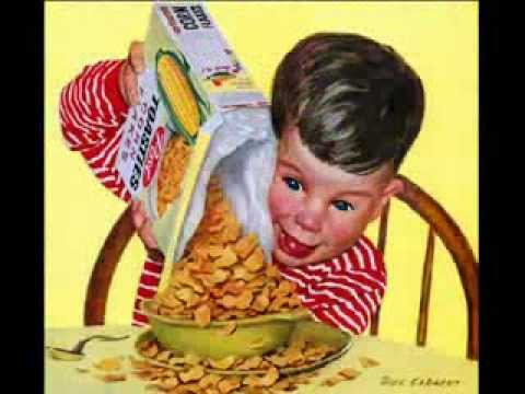 Demented Children In Vintage Advertisements
