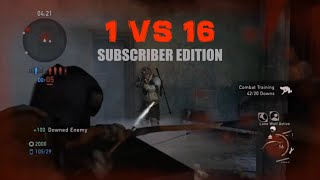 1 vs 16 Comeback (Subscriber Edition) - The Last of Us: Remastered Multiplayer (Bus Depot)
