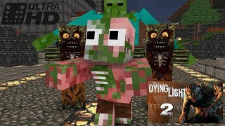 Monster School : Dying Light Challenge - Minecraft animation