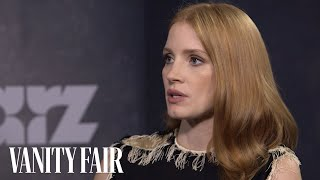 Jessica Chastain Explains How an Unknown Got to Play Opposite Brad Pitt