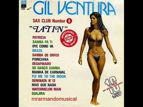 """GIL VENTURA - SAX CLUB Nro. 8. - """"LATIN"""" - DISCO COMPLETO.-"""