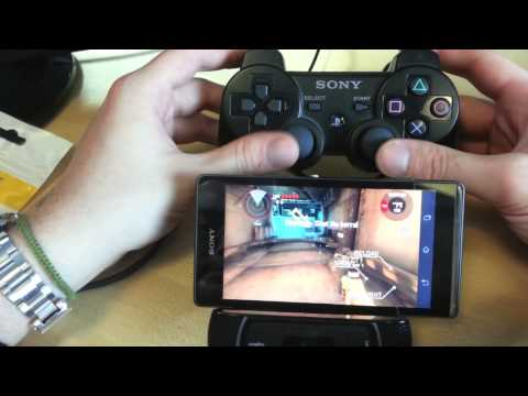 Sony Xperia : utiliser un DualShock PlayStation 3 en Bluetooth