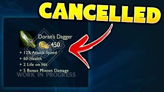 6 NEW Things That Got Cancelled From League of Legends