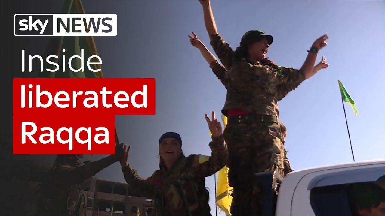 Inside liberated Raqqa