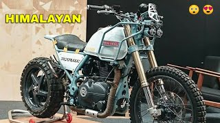 Top 10: Best Modified Royal Enfield HIMALAYAN ! ! !