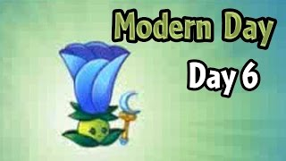 Plants vs Zombies 2 - Modern Day - Day 6: Moonflower new Costume