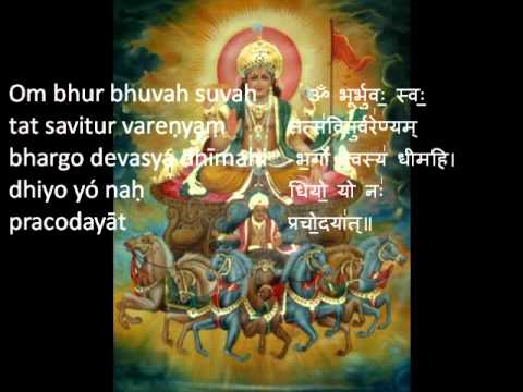 Gayatri Mantra (Savitr) 108 Repetitions...