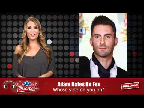 "Adam Levine Slams ""Evil"" Fox News"