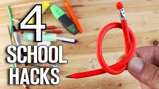 4 School Life Hacks and Creative Ideas