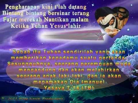 Ketika Tuhan Yesus Lahir ☆ Lagu Hari Natal - Christmas Song ☆ (berserta Lirik Lagu) video