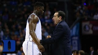 Zion Williamson On Why Coach K Is The Greatest