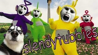 TELETUBBIES DEL DEMONIO | Slendytubbies - JuegaGerman
