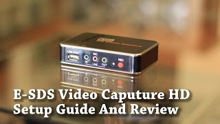 E-SDS Game Capture HD (Ezcap) - Setup Guide and Review
