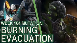 Starcraft II: Co-Op Mutation #164 - Burning Evacuation [Scout Colossus!]