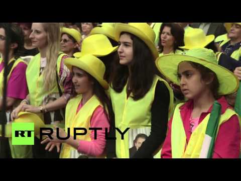 USA: Thousands of anti-Rouhani Iranians decry nuclear deal in NYC