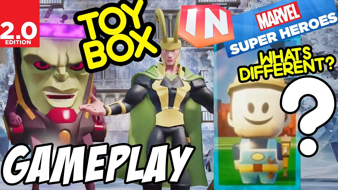 Mode Toy Box Toy Box Mode w/ Gameplay