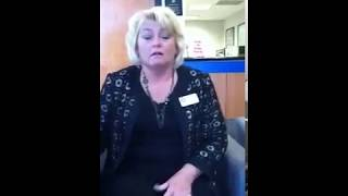 Lady can't stop farting