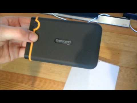 Transcend StoreJet 25M2 1TB - Unboxing - [Deutsch/HD+]