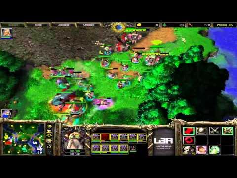 Warcraft FFA - резня на небольшой карте