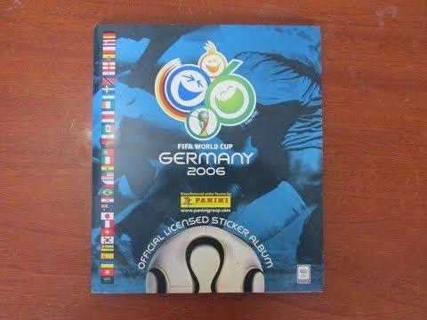 Álbum Copa do Mundo Alemanha 2006 Panini Completo #(036)