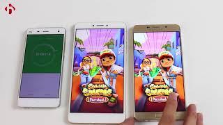 So sánh Pin Galaxy A9 Pro và Xiaomi Mi Max 2. Ai mới là ông vua ? | HungMobile