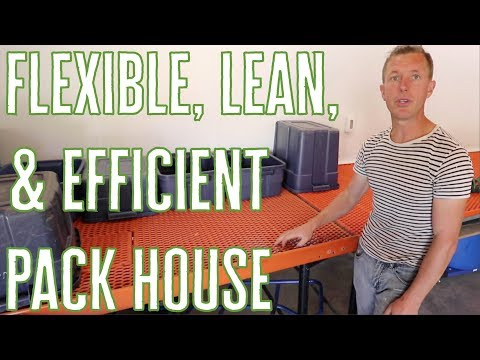 A flexible, lean, and efficient pack house