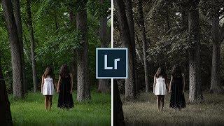 Editing A Creepy Photo - Lightroom Tutorial