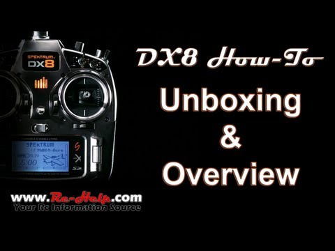 DX8 Unboxing & Overview