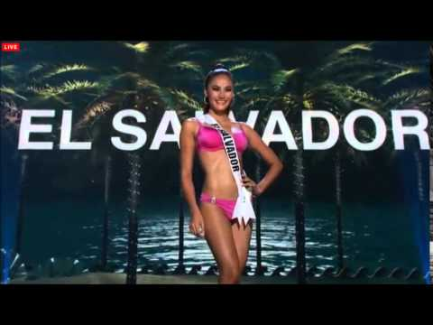 MISS UNIVERSE 2014-2015 PRELIMINARY COMPETITION - EL SALVADOR