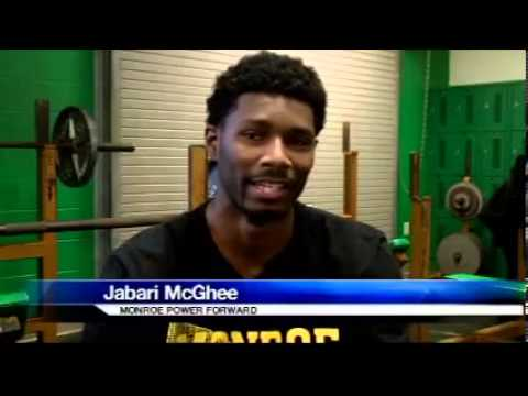 Monroe's Jabari McGhee Discusses His College Future