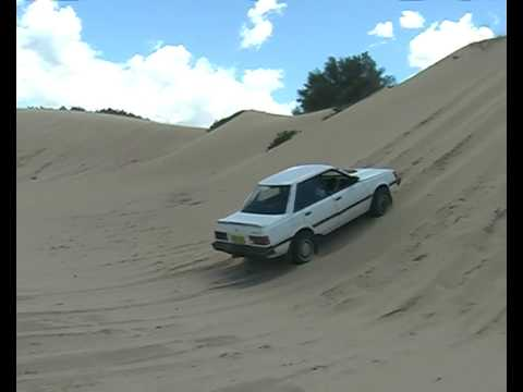 Subaru on Stockton Beach