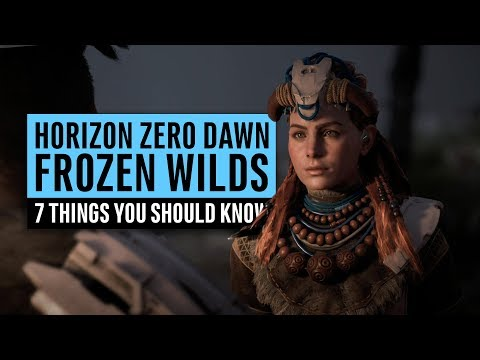 Horizon Zero Dawn DLC   7 Things You Should Know About The Frozen Wilds