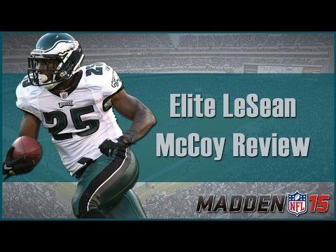 Madden 15 Ultimate Team   Elite LeSean McCoy Review