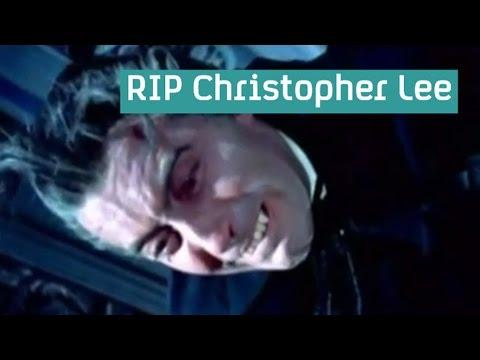 Sir Christopher Lee dies, aged 93
