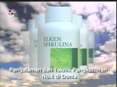 Elken Spirulina Makanan Terbaik Untuk Masa Depan.